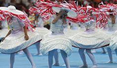 Bailarinas en pleno espectáculo - Ingrid Irribarren.