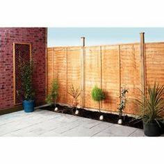 5FT Lap Fence Panels   10 Pack | Jardinage Et Extereieur | Pinterest |  All., Fence Panels And Fence