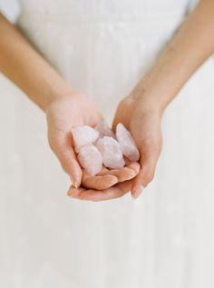 Pantone Rose Quartz Bridal Inspiration Board | Style Me Pretty #pink #wedding