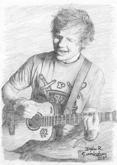Ed Sheeran Drawing.