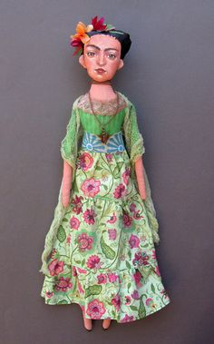 Frida Kahlo Doll ❤