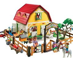Playmobil Country 5222 Childrens Pony Farm: Amazon.co.uk: Toys & Games