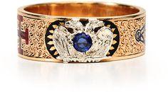 #The Three Graces         #ring                     #Symbolism #Masonic #Enamel #Ring #Three #Graces    Symbolism in a Masonic Enamel Ring - The Three Graces                                                   http://www.seapai.com/product.aspx?PID=458066