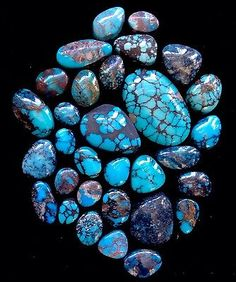 Yungai 'Cloud Mountain' Turquoise Cabochons Carats in Jewelry & Watches, Loose Diamonds & Gemstones, Loose Gemstones, Turquoise Qhd Wallpaper, Stone Wallpaper, Coral Turquoise, Turquoise Stone, Gems Jewelry, Jewelry Watches, Crystals And Gemstones, Loose Gemstones, American Indian Jewelry
