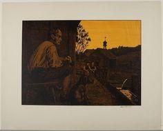 Hans Thoma, Evening Repose, 1907, Harvard Art Museums/Fogg Museum.