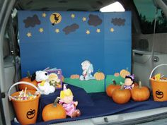 trunk or treat decorating ideas   Still Swimming: Youth Retreat & Trunk or Treat