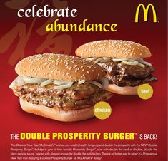 mcdonalds double prosperity burger - http://johnrieber.com/2013/04/30/prosperity-burgers-behold-chinese-mcdonalds-double-meat-madness/