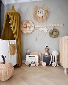 Baby Girl Nursery Room İdeas 428123508328937067 - [ 𝚝𝚑𝚎 𝚙𝚒𝚌𝚝𝚞𝚛𝚎 𝚋𝚎𝚑𝚒𝚗𝚍 𝚝𝚑𝚎 𝚐𝚒𝚟𝚎𝚊𝚠𝚊𝚢 ] Here the full view of the wonderful giveaway with and ooh noo! We are quite… Source by jedoisvousraconter Childrens Room Decor, Baby Room Decor, Nursery Room, Girl Nursery, Kids Bedroom Designs, Kids Room Design, Scandinavian Kids Rooms, Ideas Habitaciones, Nursery Inspiration
