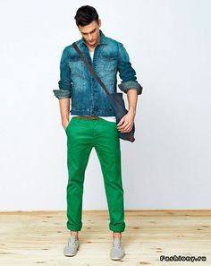 Green pants finally!