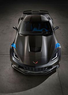 2017 Chevrolet Corvette Grand Sport top view                              …