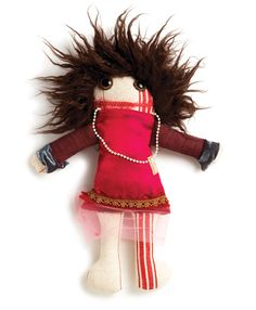 Raplapla - one of a kind models.  I heart these little dolls and love the idea of creating my own!
