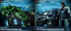 batmobile riddler theme and batman vs superman batmobile pack Batman Vs Superman Batmobile, Batman Arkham Knight, Riddler, Batcave, Sci Fi, Art, Art Background, Science Fiction, Kunst