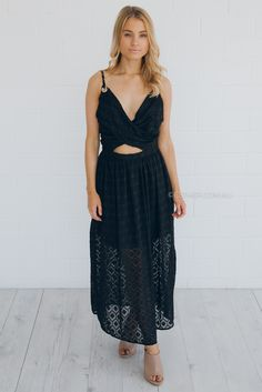 kamilah dress - black |