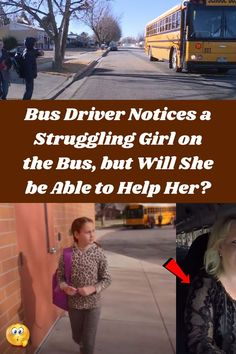 #Bus #Driver #Notices #Struggling #Girl #Bus #Able #Help