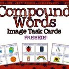 A set of 20 FREE Compound Word Task Cards using images from the lovely  Ashley Hughes  .    I created these cards to be used with my 3rd grade RtI st...
