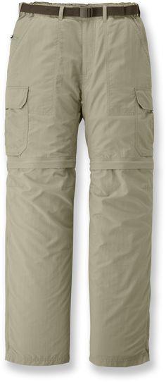"REI Sahara Convertible Pants with No-Sit Zips - Men's 32"" Inseam at REI.com"