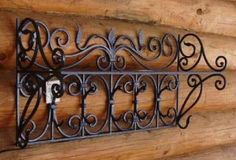 Wrought Iron, Buffet, Cabinet, Storage, Furniture, Home Decor, Metal Art, Charger, Hipster Stuff