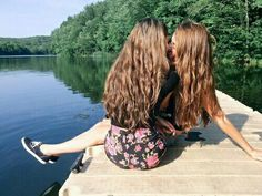 Image shared by Alexandria on We Heart It Lesbian Hot, Cute Lesbian Couples, I Kissed A Girl, Best Friend Photos, Married Woman, Cute Relationships, Cute Gay, Man Photo, Girls In Love