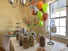 Helium Balloons, Woodland Baby, Place Cards, Place Card Holders, Baby Shower, Babyshower, Baby Showers