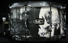 Hand painted by Jay Weinberg