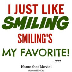 Can you name the #movie this line is from?! Ready....GO! #dental2000nj #namethatmovie