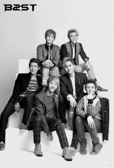 J-4673 B2st, Beast South Korean Boy Band, Beast, K-pop Poster#6- Rare New - Image Print Photo $8.99