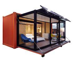 expandable container hosue prefabricated home in china Container Design, Container Homes For Sale, Container Cabin, Container House Plans, Containers For Sale, Container Buildings, Container Architecture, Prefab Homes, Modular Homes