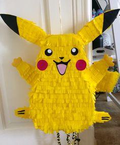 Pikachu - Pokemon #pokemon #piñata #pikachu #pokemonparty #party #fiesta #pinata #pikachuparty