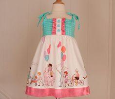 Girls Dress Pattern PDF Pattern  Dress Sewing by PaintMyQuilt, $6.00