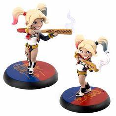 DC Comics Sucide Squad Harley Quinn Q-Figure - Radar Toys