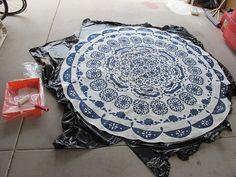 DIY alfombra : via MIBLOG