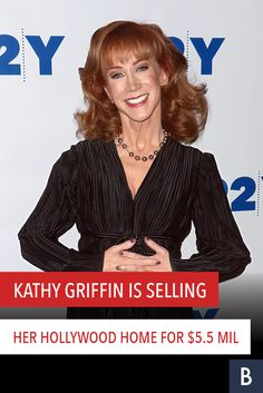The comedian and CNN New Year's Eve co-host is leaving this place for pricier digs. Check out her former Hollywood pad here! Watch Fox, Media Lies, Kathy Griffin, Hollywood Homes, Cnn News, Celebrity Houses, Call Her, Comedians, Being Ugly