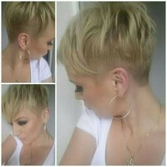 Wonderful Spikey Pixie Haircut: Short Shaved Hairstyles The post Spikey Pixie Haircut: Short Shaved Hairstyles… appeared first on Hair and Beauty . Short Haircuts 2014, Short Shaved Hairstyles, Stylish Short Haircuts, Asymmetrical Hairstyles, Popular Haircuts, Pixie Hairstyles, Pixie Haircut, Haircut Short, Bouffant Hairstyles