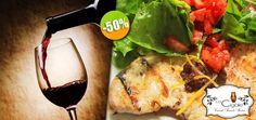 La Cigale Bistro - $117 en lugar de $235 por 1 Exquisito Pollo Paillard con Ensalada y Tapenade + 1 Copa de Vino de la Casa o 1 Limonada. Click: CupoCity.com
