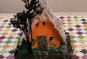 halloween putz houses - Google Search