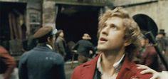Hahahaha look at Marius' face! I feel like Enjolras is terrified.