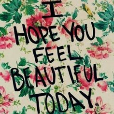 Happy Saturday Morning! Hope your day is FABULOUS!!