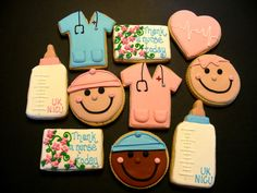 Cupcakes! Surgical instruments on a sterile field with ...