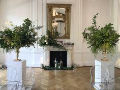 Hiding In The City Flowers Display Pedestal, City Flowers, Angel Aesthetic, London Wedding, Lush Green, Urn, Great Rooms, Flower Arrangements, Lanterns