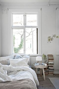 3 Exquisite Tips: Simple Minimalist Home Offices minimalist home office workspaces.Minimalist Bedroom Decor Wardrobes minimalist home modern lights.Minimalist Home Bathroom Modern. Cozy Bedroom, Bedroom Decor, Bedroom Ideas, White Bedroom, Scandinavian Bedroom, Bedroom Inspiration, Bedroom Furniture, Master Bedroom, Trendy Bedroom