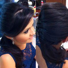 Make e penteado para madrinha de casamento