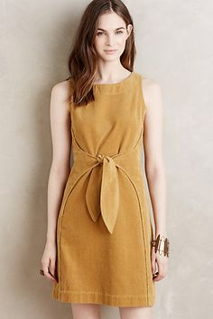 Date: 08/05/16 Note: Tied Corduroy Dress. Amazing to wear for a family day.