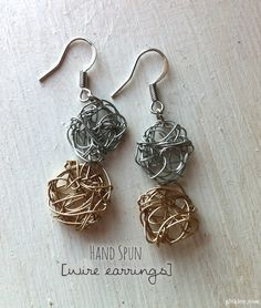 15 Gorgeous Pairs of Earrings You Can Make Yourself!