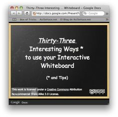 33 interesting ways to use your interactive whiteboard Technology Lessons, Teaching Technology, Educational Technology, Smart Board Lessons, Teaching 6th Grade, Smart School, Interactive Whiteboard, Teacher Tools, Math Lessons