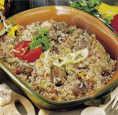 Fried Rice, Favorite Recipes, Meals, Ethnic Recipes, Finger, Drink, Food, Red Peppers, Beverage