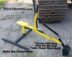 Stainless steel sandbox backhoe mini excavator sand digger