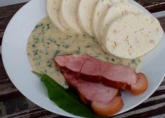 Uzená medvědí omáčka recept - TopRecepty.cz Sausage, Pork, Meat, Kale Stir Fry, Sausages, Pork Chops, Chinese Sausage