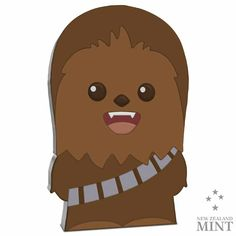 Chibi: Chewbacca - 1 Unze Feinsilber Chibi, Proof Coins, Effigy, Disney Star Wars, Chewbacca, Coin Collecting, Silver Coins, Pure Products, Stars