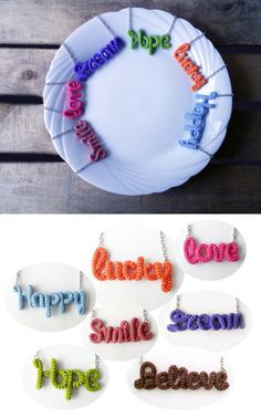 Hey, I found this really awesome Etsy listing at https://www.etsy.com/listing/216454977/inspirational-word-necklace-handwritten