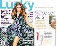 LUCKY MAGAZINE Rav reviews on Rodan and Fields Sunscreen. My must have for summer and beach!! www.jamieshaw.myrandf.com